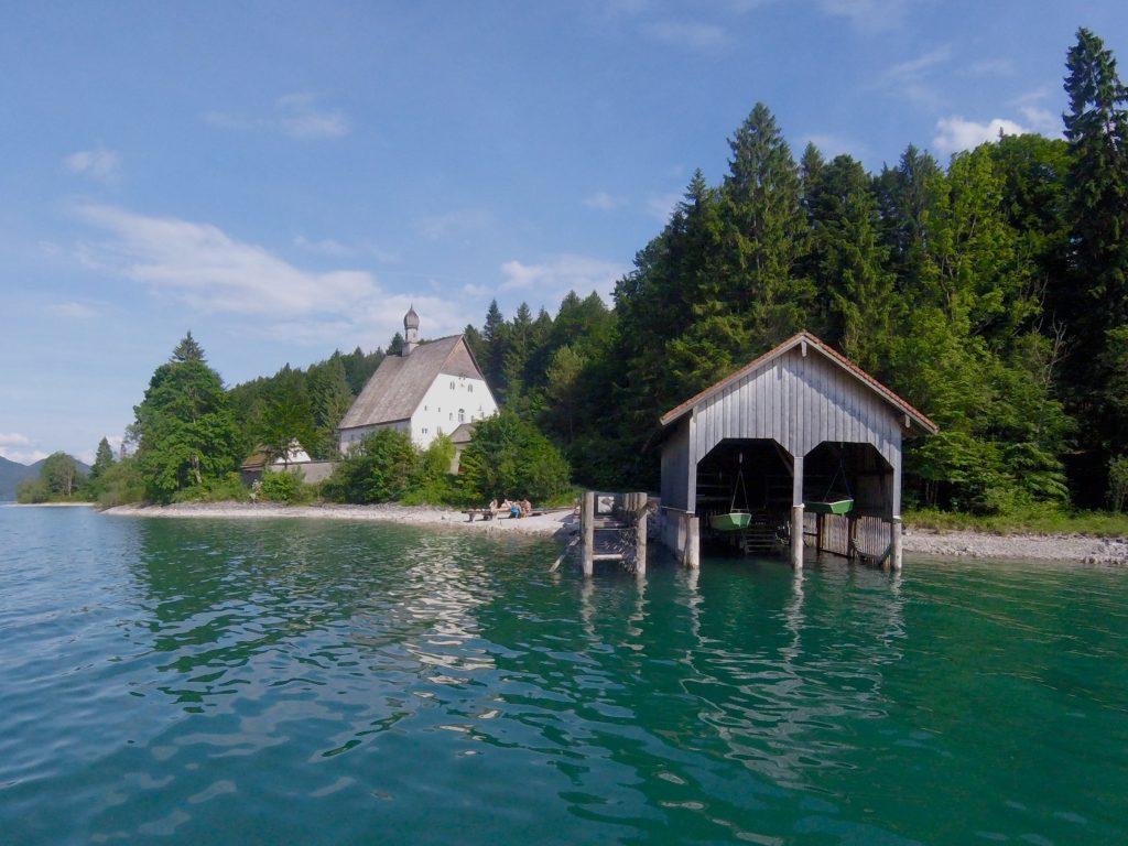 Bootshaus am Walchensee