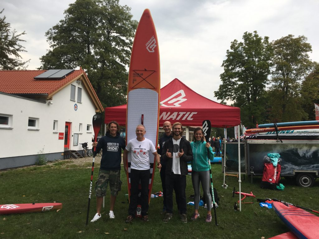 SUP Race Bavarian Championships Pilsensee