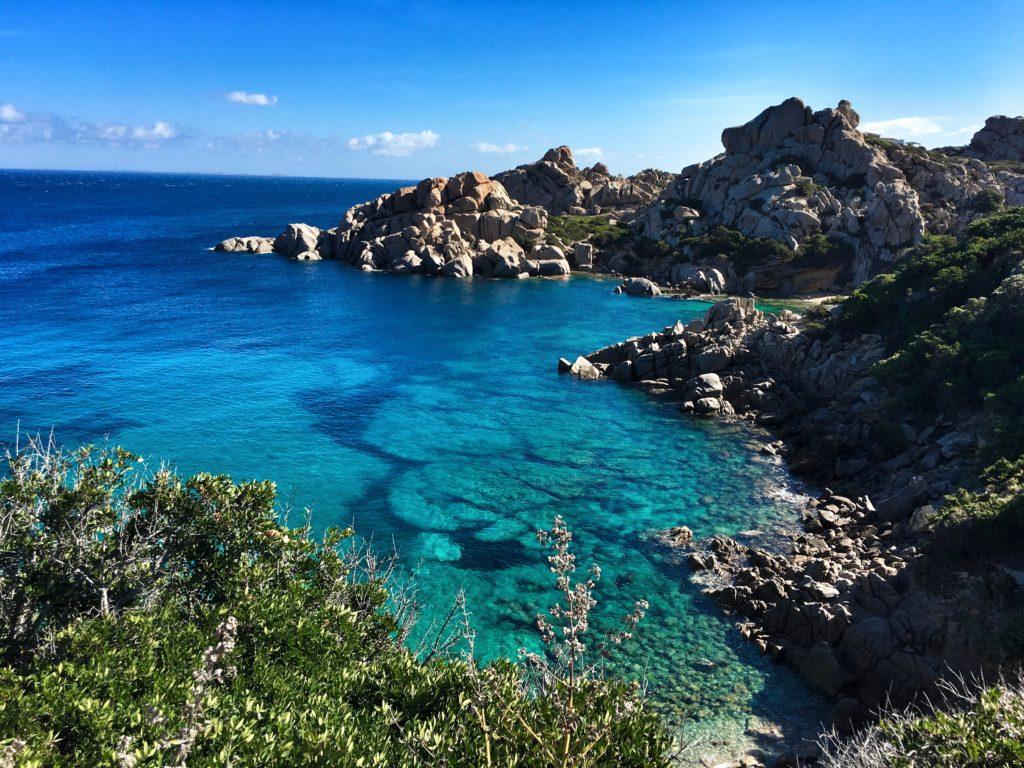 SUP in Sardinien