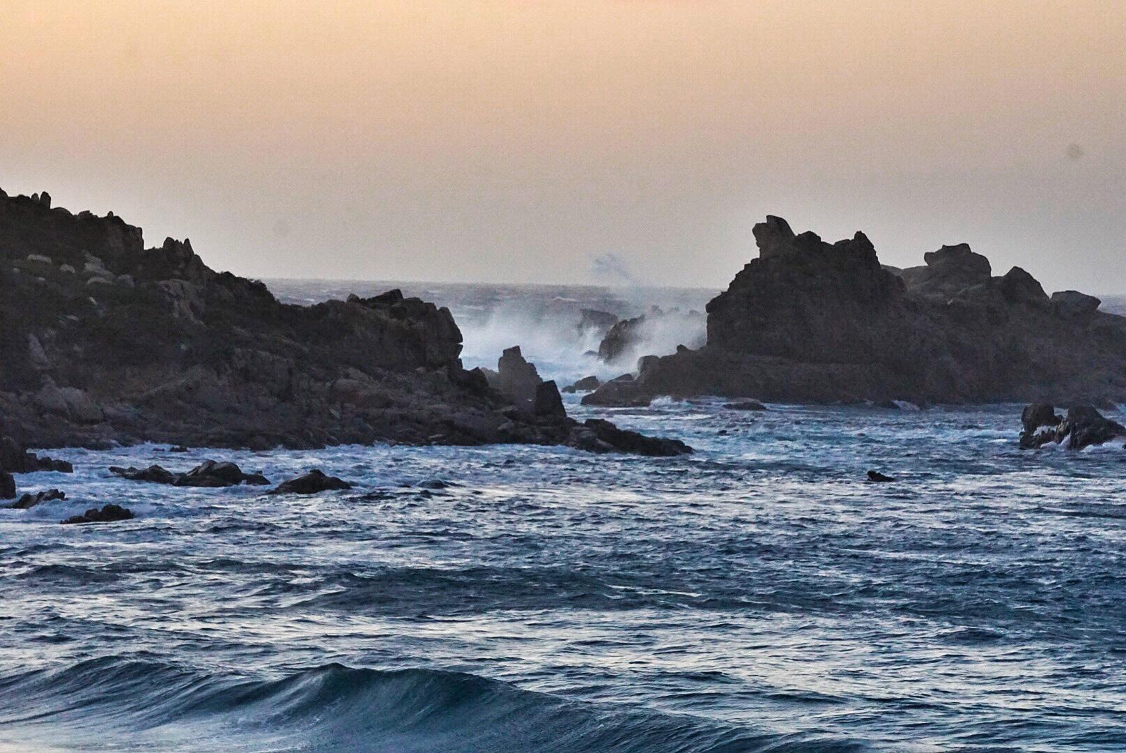 SUPen in Sardinien - Teil 6 - der Kampf gegen den Mistral